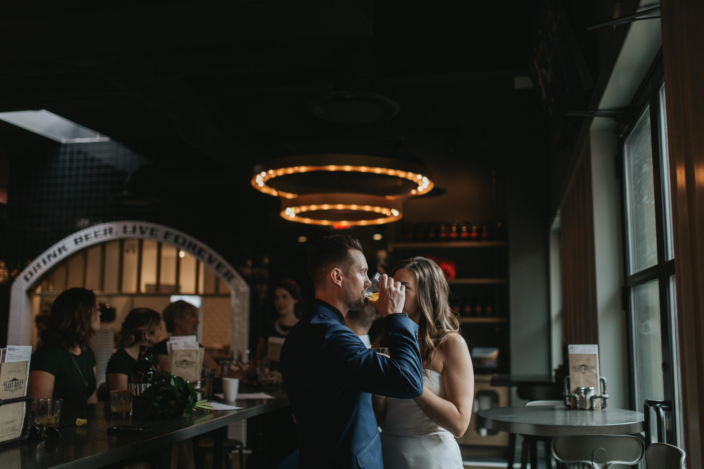 industrial calgary wedding photography
