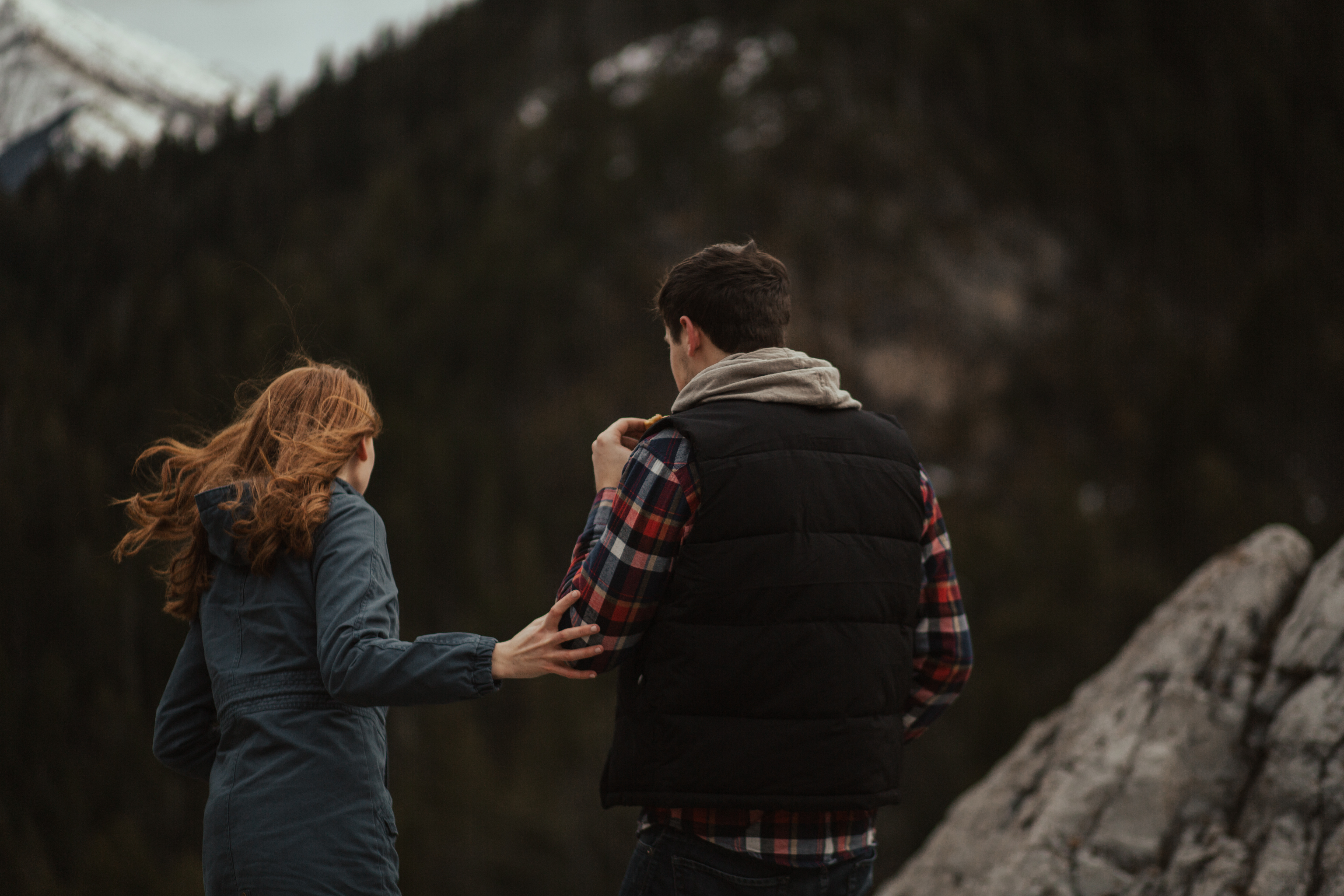 waterton engagement session