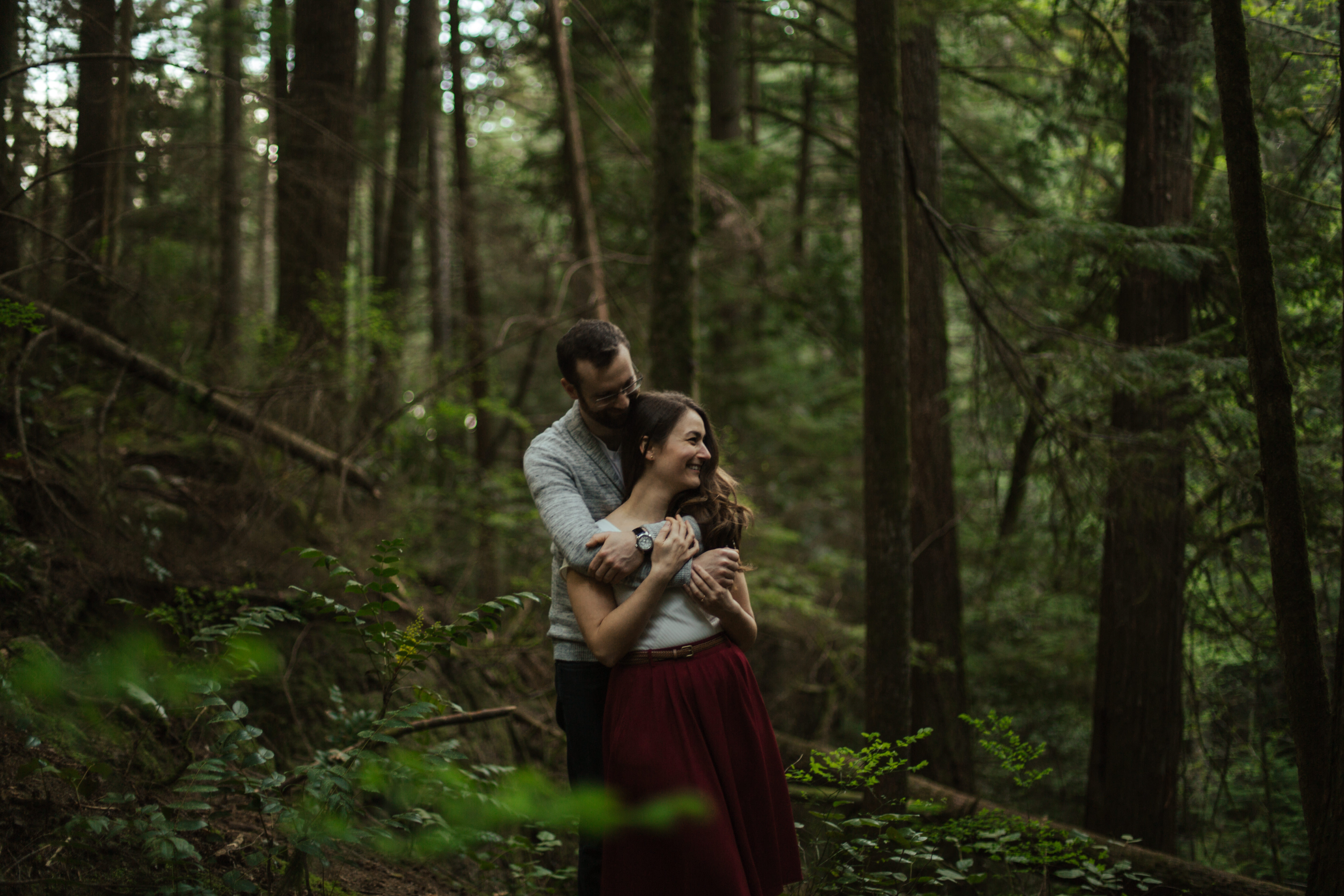 vancouver engagement photos